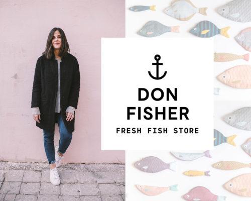 Don Fisher los estuches pez más famosos
